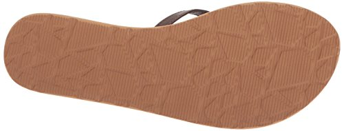 Volcom Mujer Marron Crosstown Marron Chanclas rqXg7wr