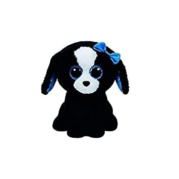 Carletto Tracey TY 35013 - Perrito de Peluche con Clip (diseño con Ojos con Brillantina