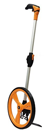 Aain TM007 Dual-Foldable 12-Inch Measuring Wheel Orange by Aain®