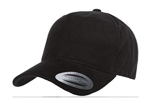 Twill medio One Black Yupoong 6363V perfil Classics Gorra Size Aw5pBB
