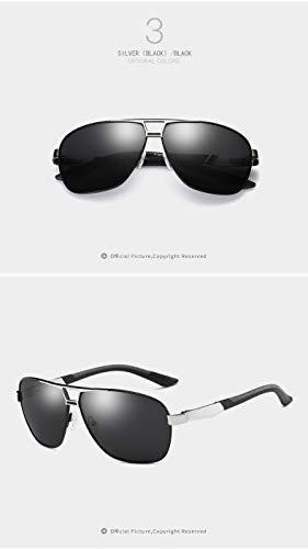 Hombres Gafas HD Color 4 4 de Muchachas Gafas Sol de Sol Ruiyue de Moda de de los de Las UV400 de Las de conducción Personalidad Gafas la nYxZwqCP