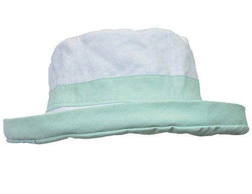 Women's Sun Hat Reversible Bucket Cap UPF 50+ Outdoor Travel Beach Hat Green by Sun Blocker (Image #3)