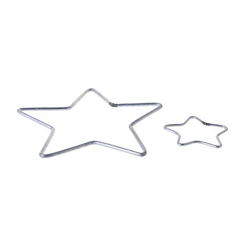 Yeahii Star Metal Dream Catcher Dreamcatcher Ring Macrame Craft Hoop DIY Accessories by Yeahii (Image #6)