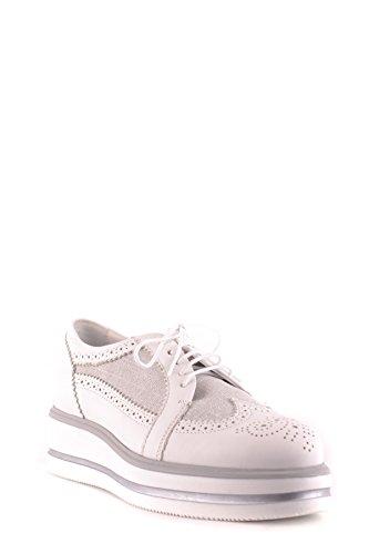 Hogan Sneakers Mujer Mcbi148422o Cuero Blanco