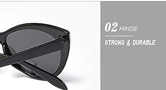 RetroUV/® Occhiali da Sole Super Cat Cat Mode Mod Cat Eye da Donna