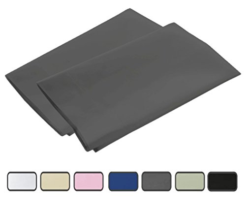 100% Brushed Microfiber 2-Piece Pillowcase Set with 2-Inch H
