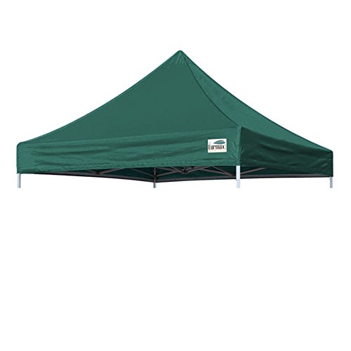 Eurmax New Pop up 10x10 Replacement Instant Ez Canopy Top Cover (Forest (Canopy Forest Green)