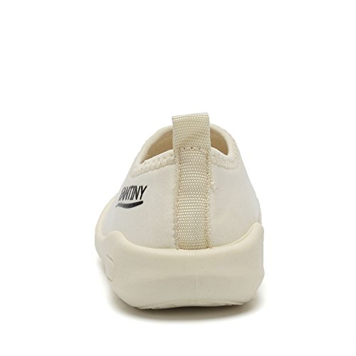 CIOR Kids Slip-on Casual Mesh Sneakers Aqua Water Breathable Shoes For Running Pool Beach (Toddler/Little Kid) SC1600 White 20 2