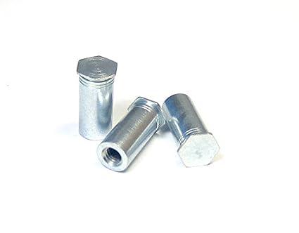 Box of 1000 Through Threads Hardened Steel Heat Treat Zinc and Bake 10-32 x 5//8 BC-1110SCSO SHORPIOEN Self Clinching Standoff