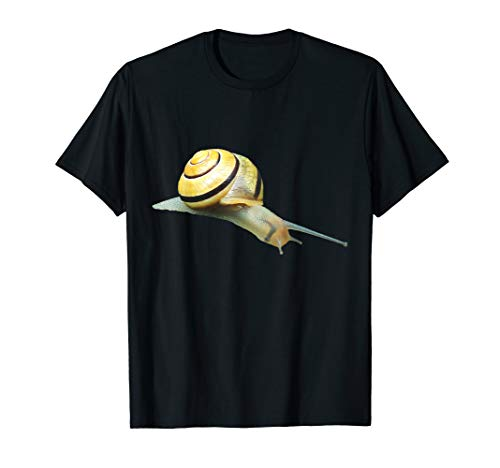- Slimy Snail t-shirt Shelled Slug Beach Garden Creature