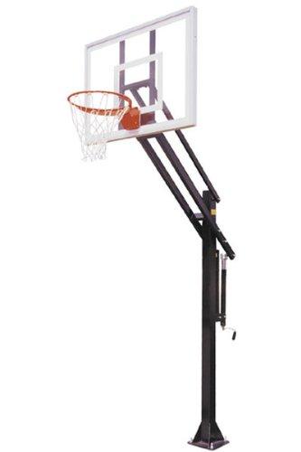 最初チーム攻撃II住宅用調節可能なIngroundバスケットボールシステム B000A7OU40