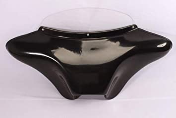 USA F10 GELCOAT CO DE 39 CD Cover Batwing Fairing Windshield 4 Harley Sportster 1200 Low Nighter Roadster 72 48