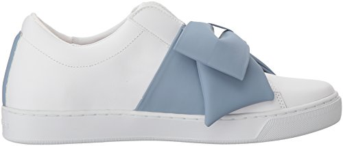 official online Skechers Women's Prima-Bow Insted Leather Sneaker White/Blue free shipping visit best sale sale online discount from china discount excellent poOdfR6CwW