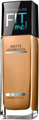 Maybelline Fit Me Matte Plus Poreless Foundation - Warm Honey by Maybelline
