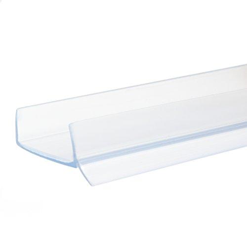 1 5m Pvc Plinth Sealing Strip 18mm Transparent Kitchen Kickboard Mdf