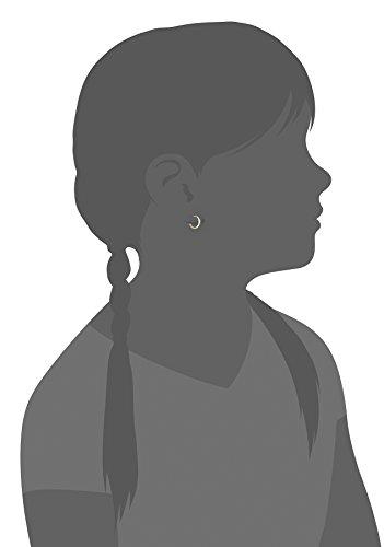 Girls' 14k Yellow Gold Huggie Hoop Earrings