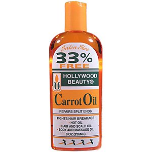 Hollywood Beauty Carrot Oil 8 oz.