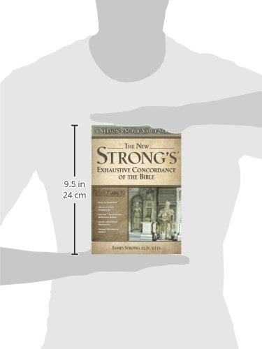 New Strong's Exhaustive Concordance by HarperCollins Christian Pub.