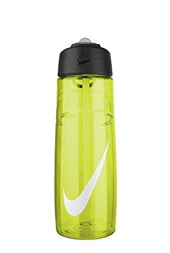 Nike T1 Flow Swoosh Water Bottle (24Oz, Volt/White)