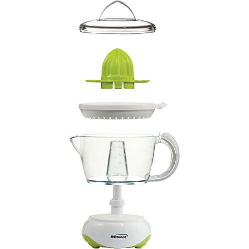 Brentwood  J-15  24oz  Electric  Citrus  Juicer,  White by Brentwood (Image #6)'