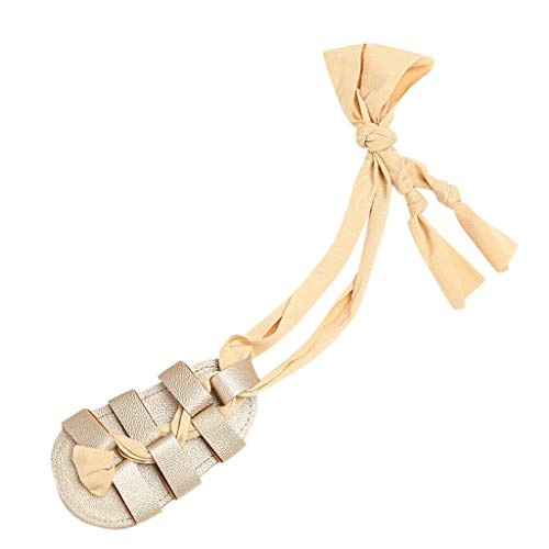 56d438b6f HYIRI Fit Photo Wild Newborn Toddler Baby Girls Leather High Bandage Sandals  Firstwalkers Shoes Gold
