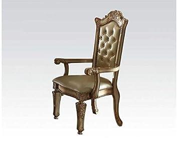 Amazon.com: Acme Vendome 63004 - Juego de 2 sillones de ...