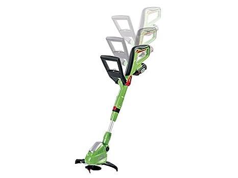 Florabest® Desbrozadora FRTA 20 A1 con batería, sistema eficaz de cuchillas de plástico para un corte limpio y exacto: Amazon.es: Jardín