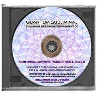 BMV Quantum Subliminal Improve Racquetball Skills CD (Ultrasonic Peak Sports Performance Series)