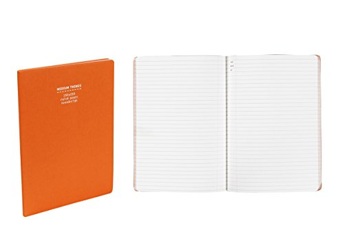 Nava Everything Notes A5, 5.8 x 8.3 Inches, Orange Journal ( 1 pc.) by NAVA