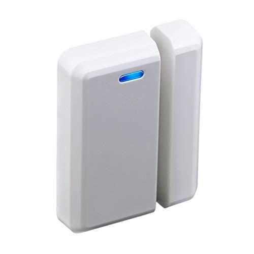 STARPOINT Extra Add-On Window/Door Sensor for the STARPOINT Expandable Wireless Multi-Unit Long Range Doorbell Chime Alert System, Model LD, White
