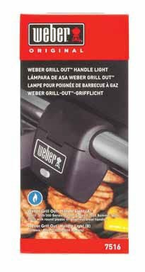 Weber Grill Out Handle Light (Pack of 2) by Weber