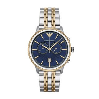 Emporio Armani Men's AR1847 Dress Two Tone Watch