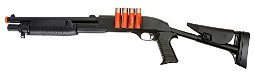 Double-Eagle-VA183A3-Airsoft-Spring-Action-Pump-Shotgun-with-Adjustable-Stock-Airsoft-Gun