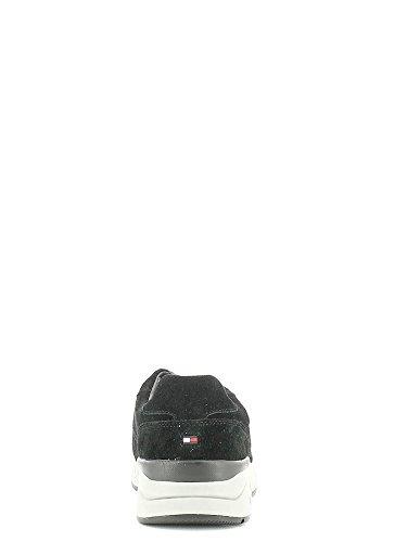 Tommy Hilfiger Fm56821601 Zapatillas Hombre Negro, Talla 40
