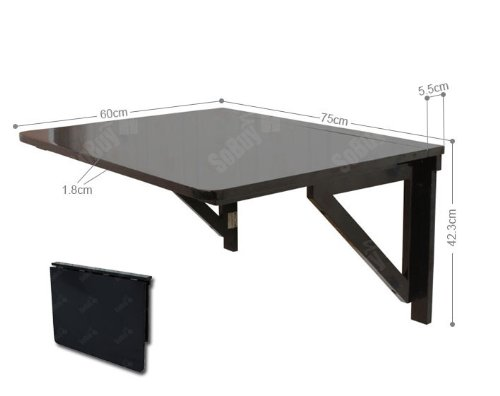 Sobuy Wall mounted Drop leaf Table Folding Dining Table  : 31sKq7MkxOL from www.desertcart.ae size 500 x 396 jpeg 15kB