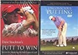 Putt To Win & Unconscious Putting by Dave Stockton (TWO Golf DVD SET)