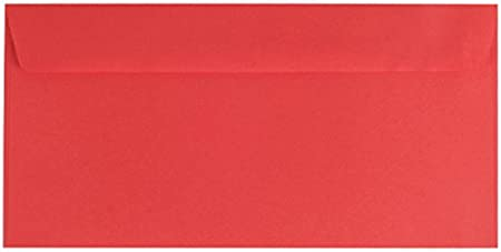 100 Schwarz DIN lang Briefumschläge Sirio Color farbige Umschläge DL elegant