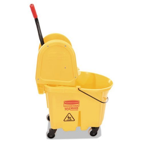 Commercial Wavebrake 35-qt. Bucket/Wringer Combinations by Rubbermaid Commercial Products