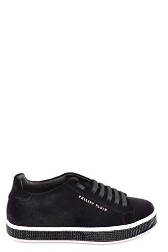 Plein Cuero Negro Philipp Mujer Zapatos Wsc0909pte086n02 xPHqfxY1w
