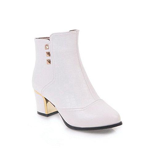 1TO9 1TO9Mns02568 - Sandalias con Cuña Mujer blanco