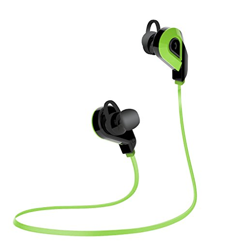 Bluetooth Headphones, ROKER Bluetooth V4.1 Wireless Stereo Sports Earbuds Earphones Headset Headphone for Running Gym Exercise with Microphone