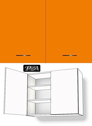 Kitchen Wall Cupboard 2 Door 2 Shelves 79 Front And 60 80 90 Cm