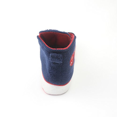 Gohom Womens Warm Winter Indoor Slipper Boots House Navy&red wO5SW1cZkQ