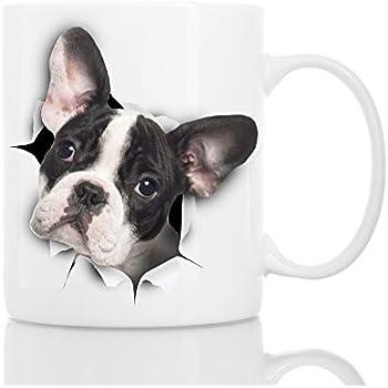 Great Mug Perfect Coffee Birthday Ceramic Bulldog Present Funny Or French Gift Cute Novelty Christmas ywmvN8n0O