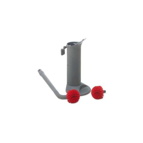Ergo Lightweight Brush - Unger Enterprises Ergo Toilet Bowl Brush with Holder