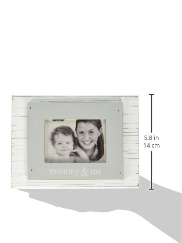 Mud Pie Daddy and Me Frame, White/Gray 2042041