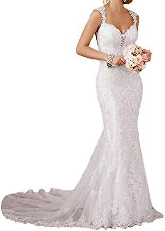 RYANTH Wedding Dresses Mermaid Sweetheart product image