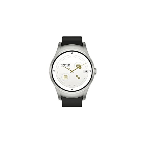Wear24 Android Wear 2.0 42mm 4G LTE WiFi+Bluetooth Smartwatch (Stainless Steel) by Zemerotti