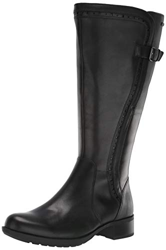 Rockport Women's Copley Tall Bt WC Knee High Boot, Black, 8.5 W US (Rockport Boot Women)