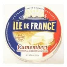 ile de france camembert cheese wood box 8 ounce 6 per case grocery gourmet. Black Bedroom Furniture Sets. Home Design Ideas